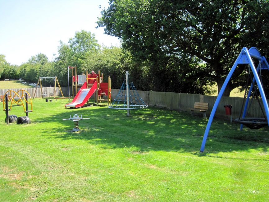 Hartpury Village Hall play area