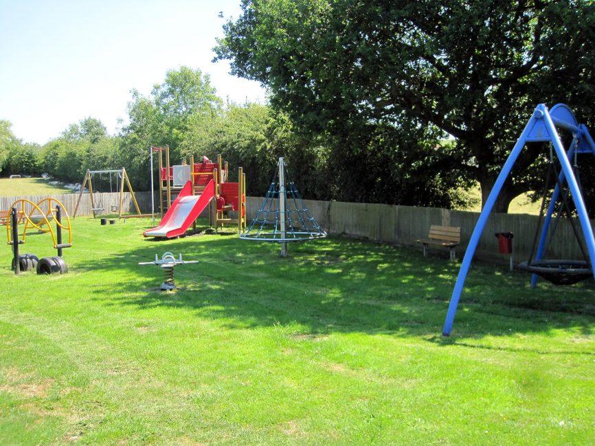 Hartpury Village Hall play area